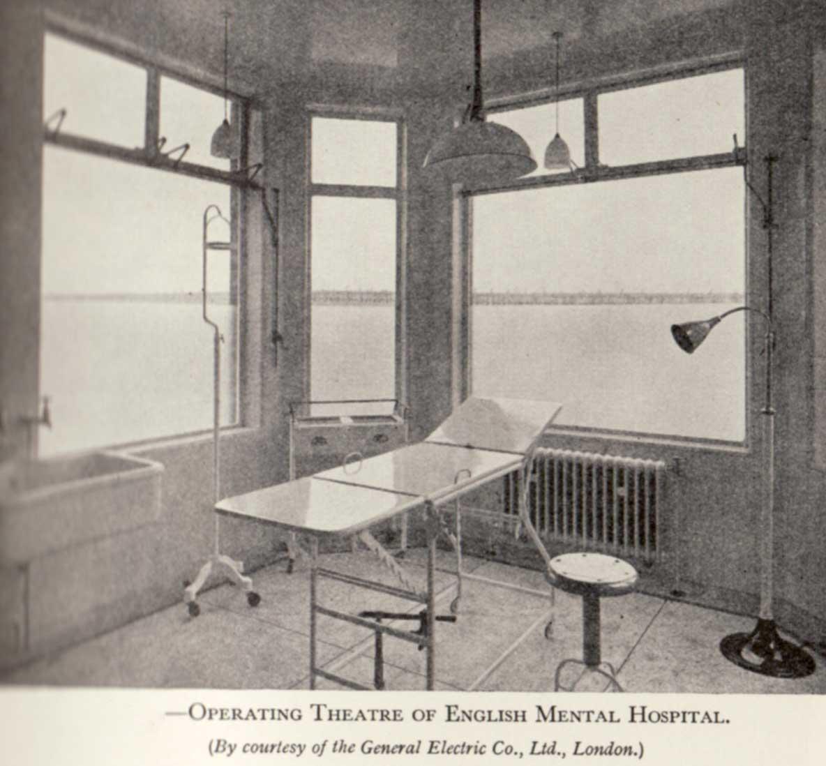 The 1938 Mental Hospital