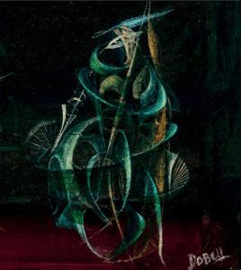 Oil on hardboard, William Dobell
