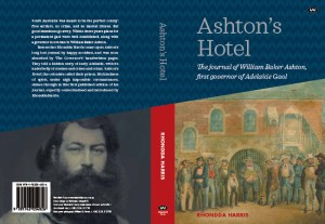 Ashton's Hotel by Rhondda Harris, original front and back cover