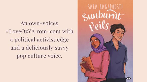Cover reveal, Sunburnt Veils