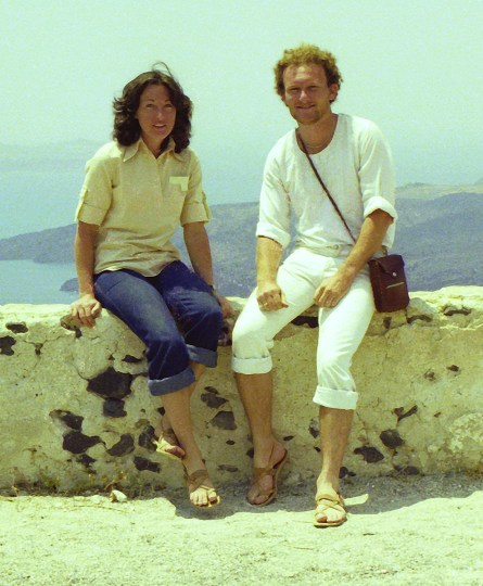 Michael and Jenny, Santorini