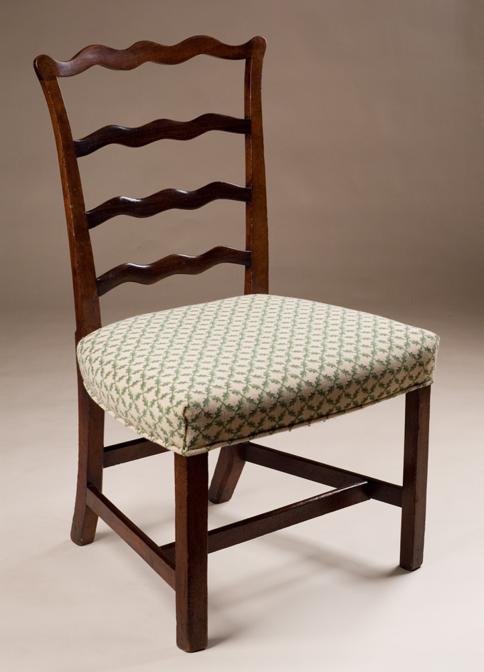 Antique LadderBack Side Chair