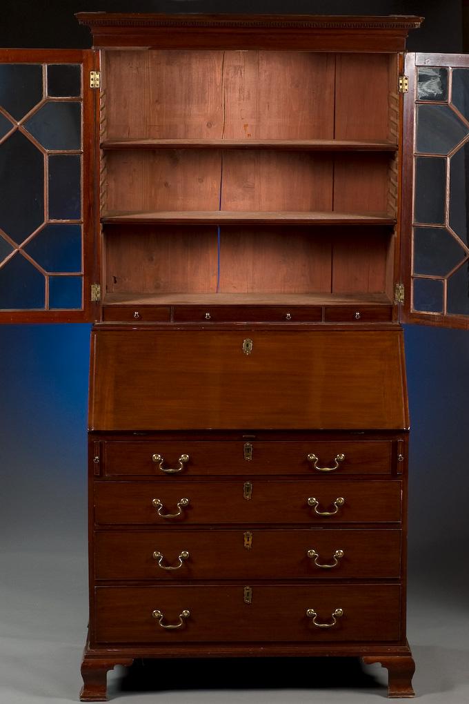 Slant Front Secretary Bookcase