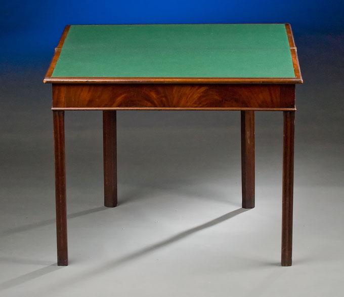 Georgian Folding Top Card Table