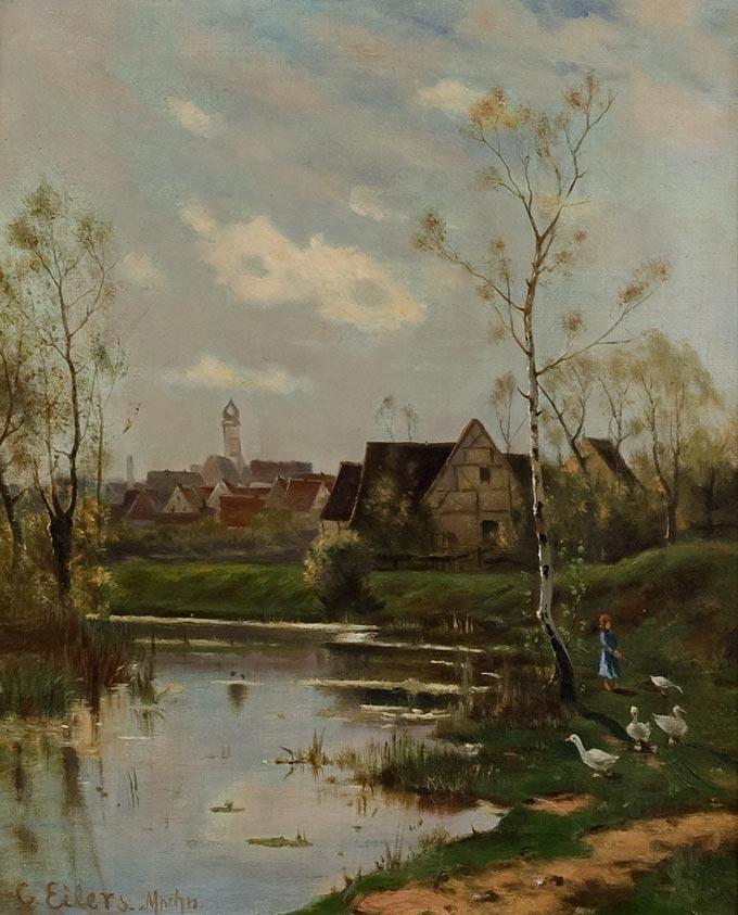 Conrad Eilers Landscape Painting