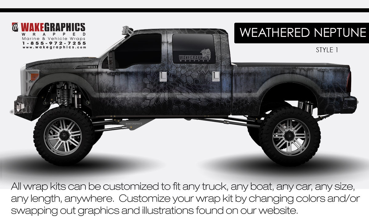 hight resolution of weathered neptune style 1 truck wraps