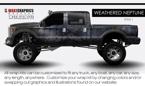 small resolution of weathered neptune style 1 truck wraps
