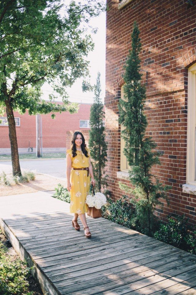 Hydrangea Dress-6