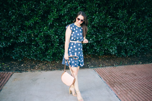 Polka Dot Dress - Waketon Road Blog-22