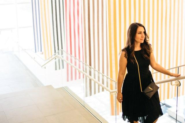 The Art of Fashion - Waketon Road: A day at the DMA wearing Banana Republic LBD