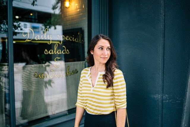 Coffee Shop on Waketon Road Blog: Wearing Loft and M.Gemi