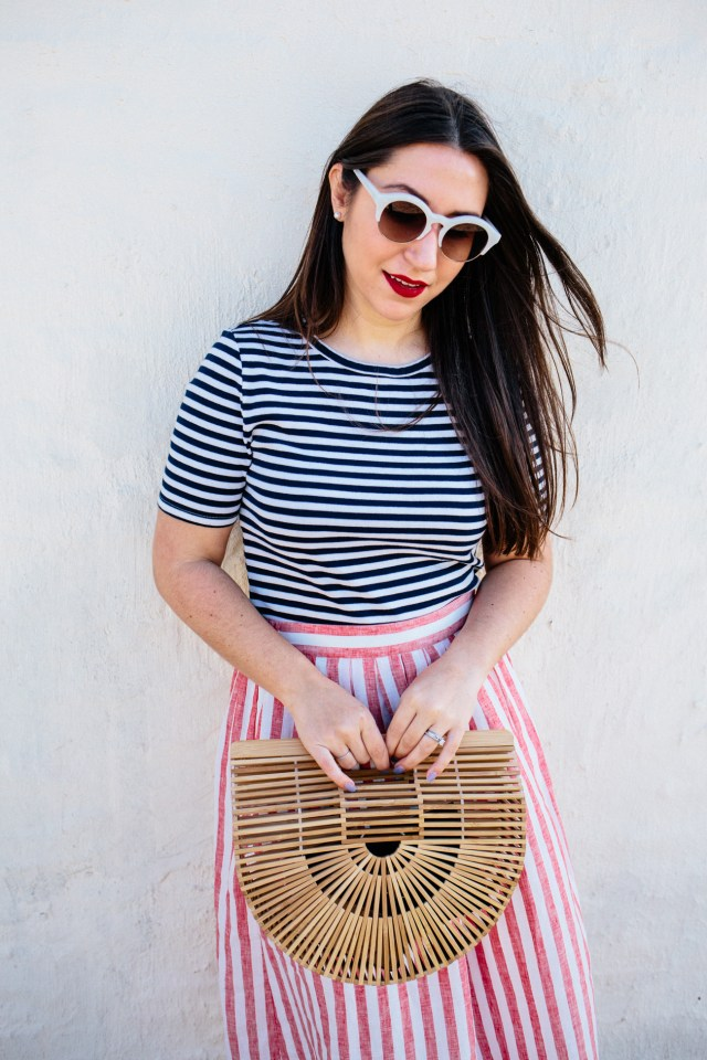 National Stripes Day with J.Crew on Waketon Road Blog
