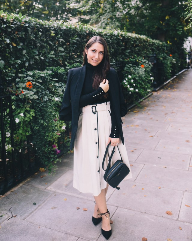 Date Night in London on Waketon Road wearing J.Crew
