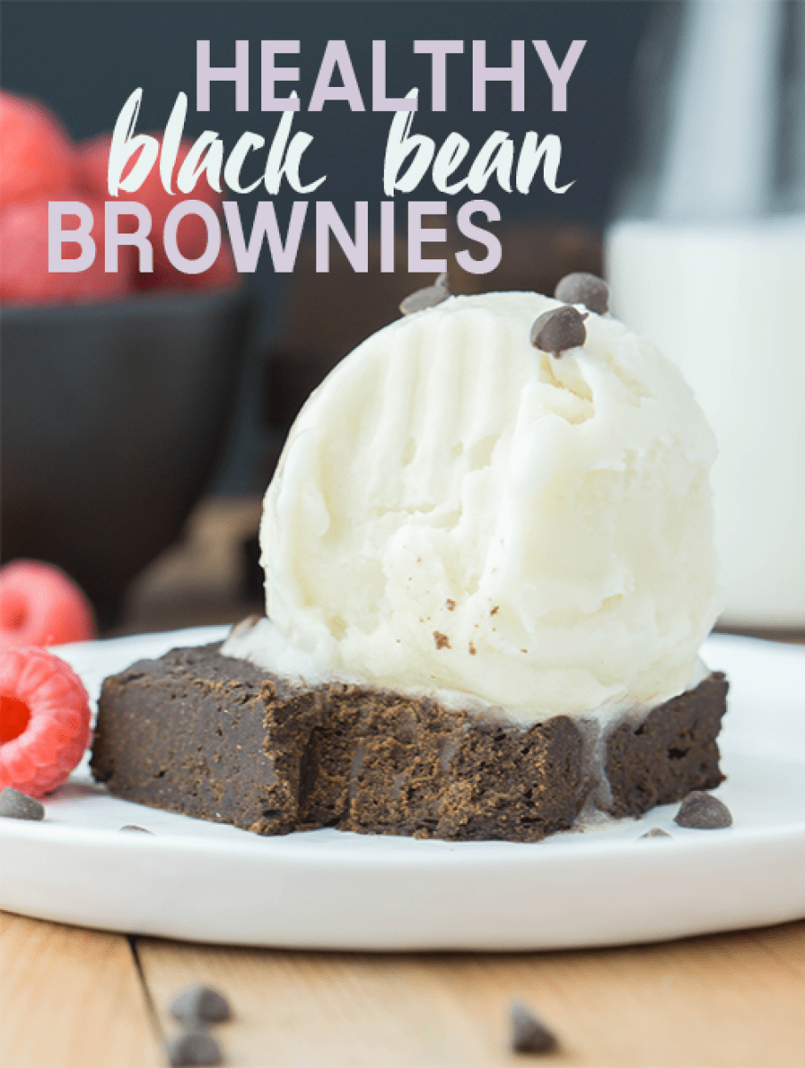 Healthy BLACK BEAN Fudge Brownies! #healthy #blackbean #chocolate #fudge #brownies | www.wakeuptowaffles.com