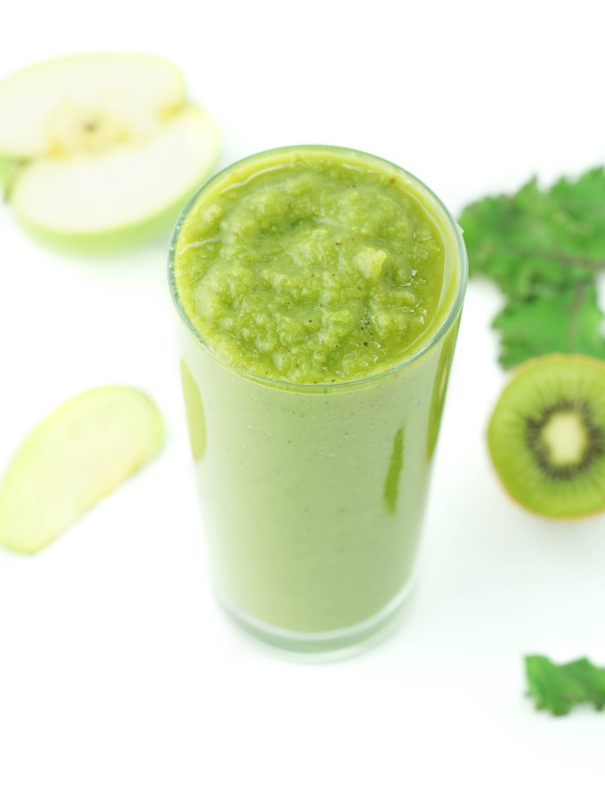 Super Green Apple Kale Smoothie