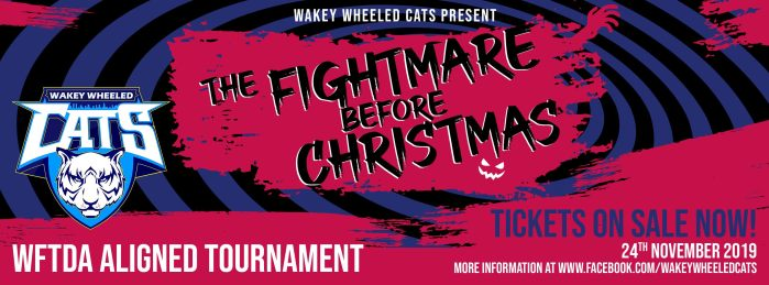 Fightmare Before Christmas Roller Derby tournament