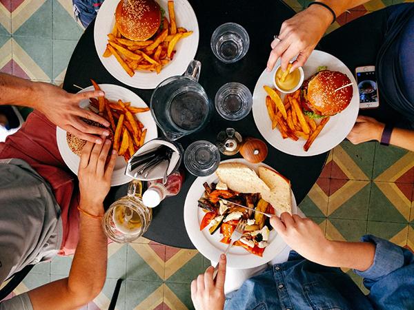 食事でのわきが対策