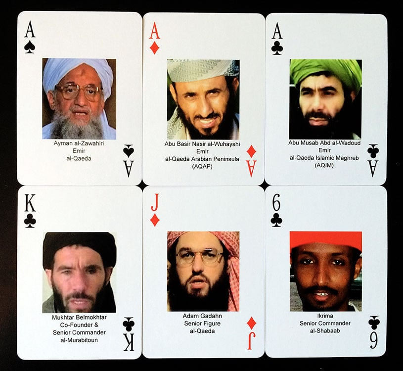 Al Qaeda Palying Cards