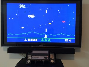 Astrosmash, with really sharp HD blockiness - Clear as a bell.