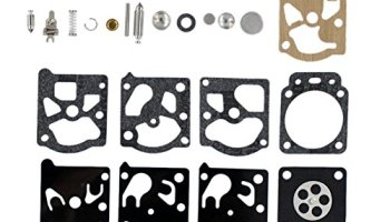 QAZAKY Carburetor Diaphragm Gasket Rebuild Repair Kit for Walbro K24