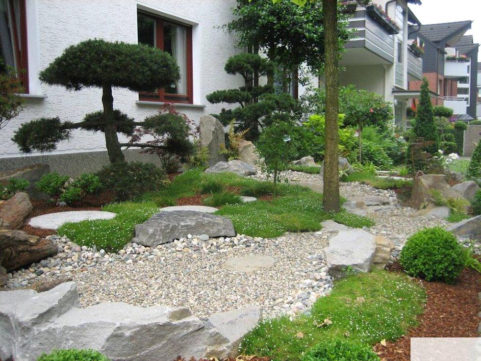 steingarten anlegen gestalten - boisholz, Gartenarbeit ideen