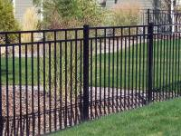 Wrought Iron Fence Without Finial for Fence, Railing, Gate