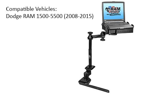 RAM RAMVB178ASW1 Laptop Mount for the Dodge RAM 2008-2015
