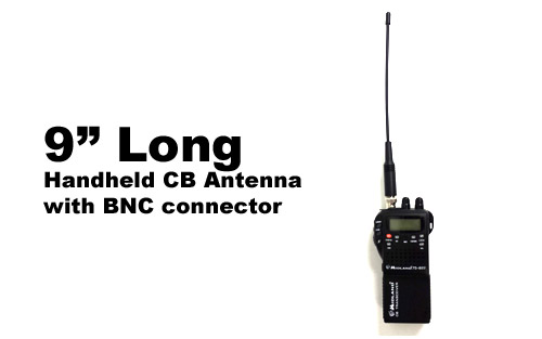 9 in Flexible Handheld CB Radio Antenna