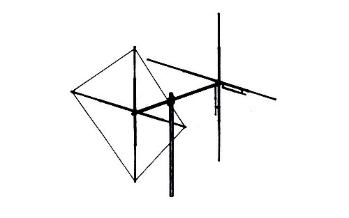 MaCo Y-QUAD Beam Base Station CB Antenna