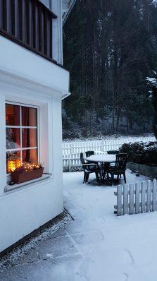 Winter am Wald Kobel