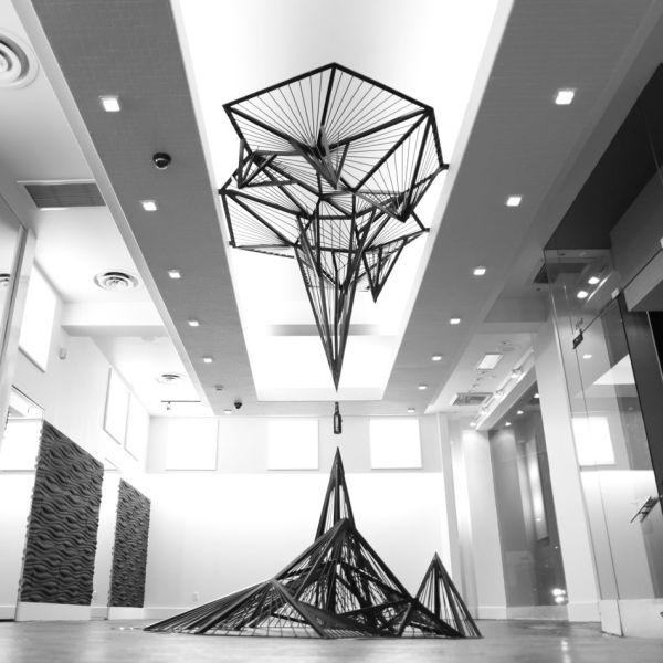 Becks Sapphire Installation Moritz Waldemeyer