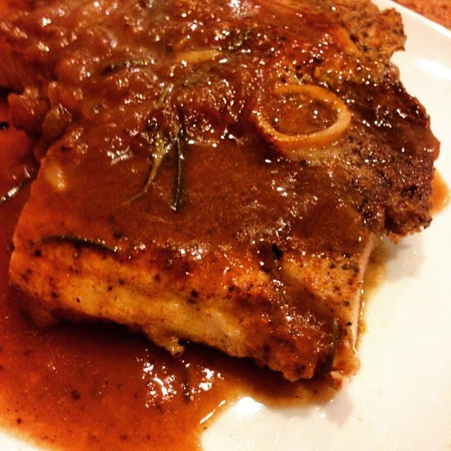 Walden Hill Acorn Pork Ham Steak Glaze