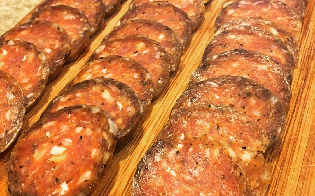 Introducing Acorn Pork Mild Salami!