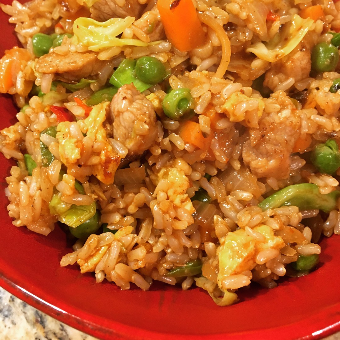 Acorn-Fed Pork Fried Rice