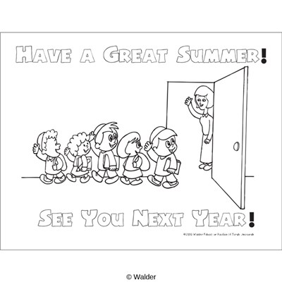 Have a Great Summer See You Next Year. Teacher and