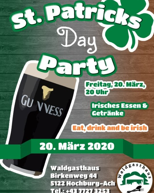 St. Patric´s Day Party