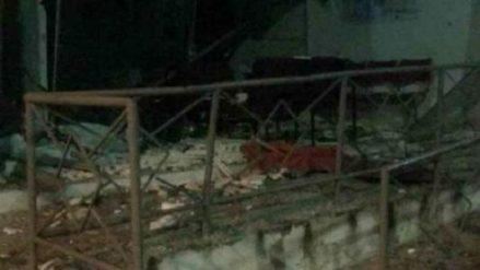 Resultado de imagem para imagens de Criminosos explodem caixa eletrônico de banco em Jucati, Agreste de Pernambuco