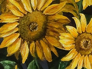 Sunflowers on a Grand Piano