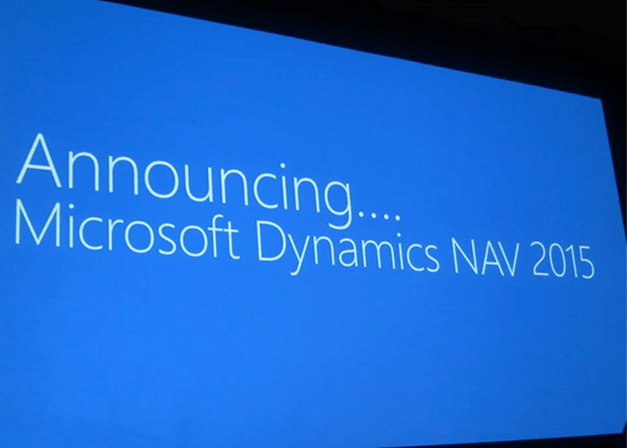 Microsoft Dynamics NAV 2015 is announced! (1/4)