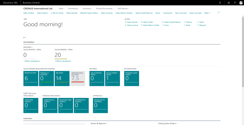 Microsoft Dynamics 365 Business Central is released @ Directions NA