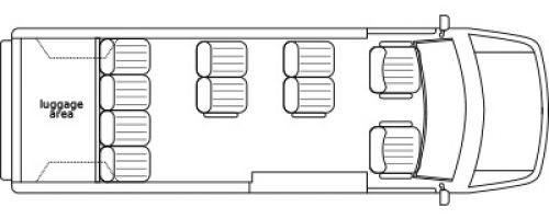 Ford Luxury Conversion Van with Galaxy Design by Waldoch