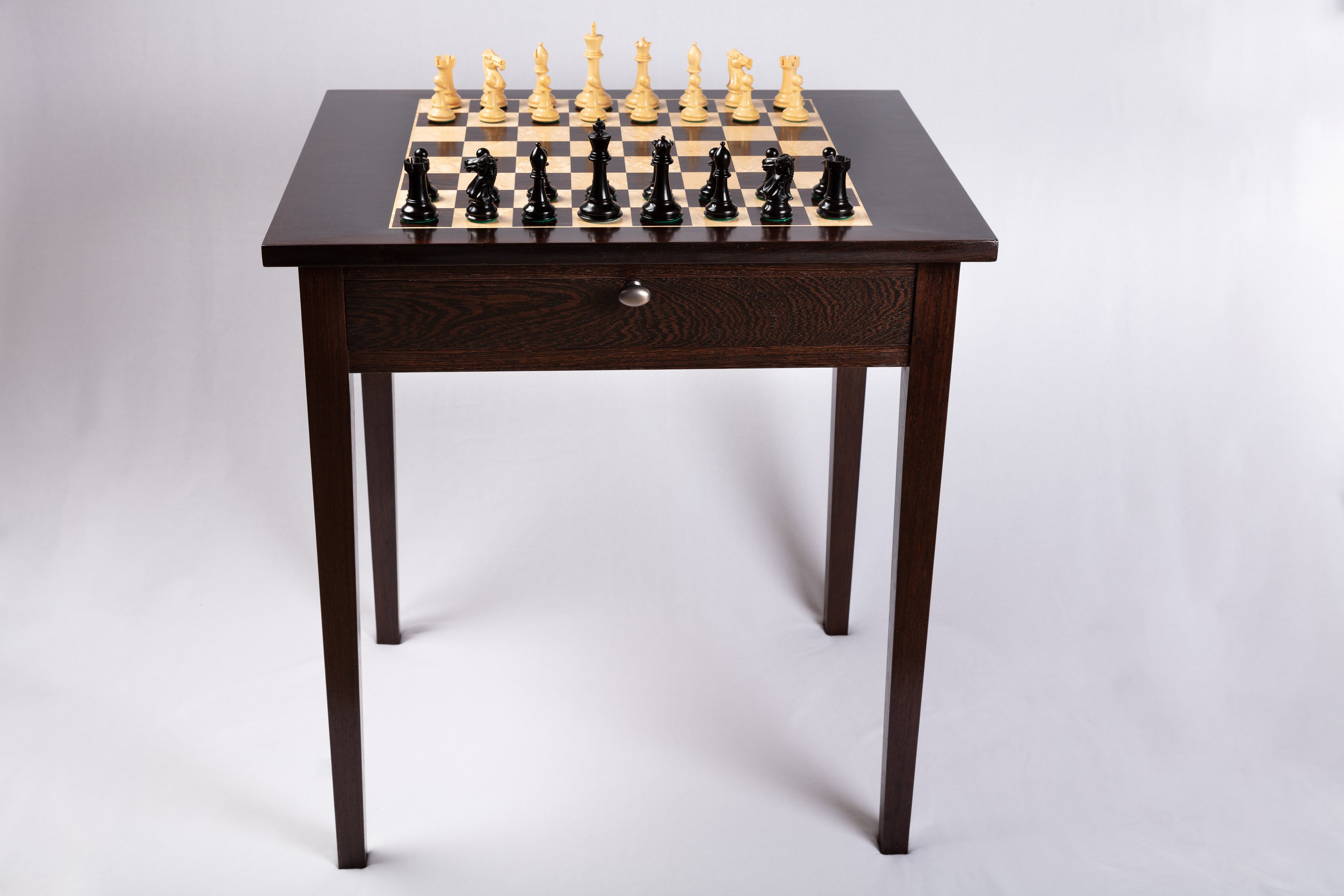 Chess Table - Wenge