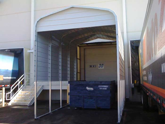 Loading Dock Cover Canopy