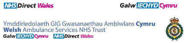 Aneurin Bevan University Health Board  NHS Direct Wales Online Enquiry Service