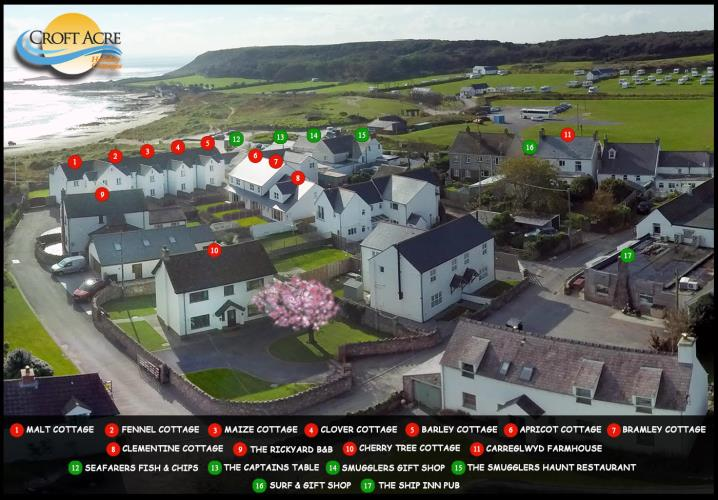 Croft Acre Cottages  Port Eynon  Swansea and Gower