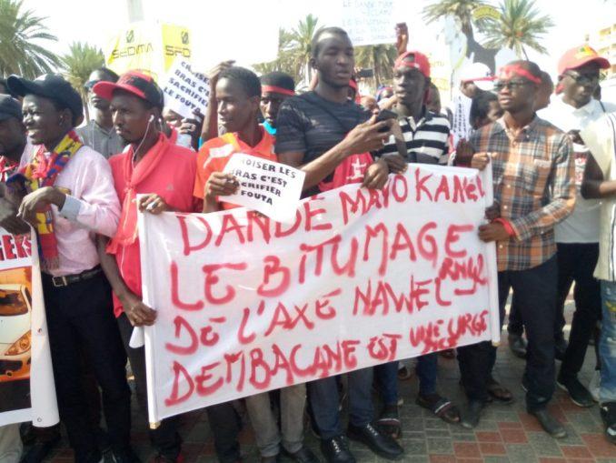 Les Jeunes Foutankés Durcissent Le Ton :  «Macky Nous A Trahis»