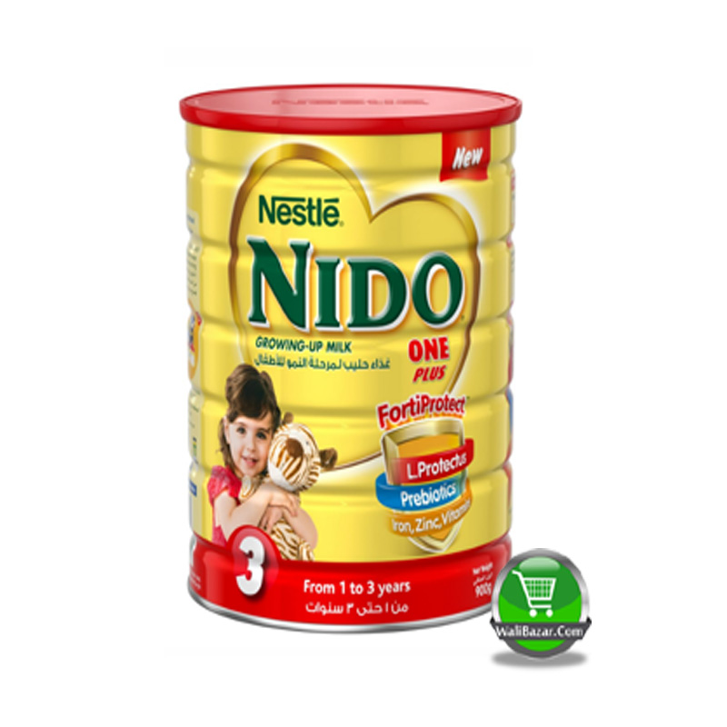 Nestle Nido Growing Up milk 1+ Tin