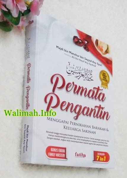 Buku Persiapan Pernikahan Dalam Islam Permata Pengantin