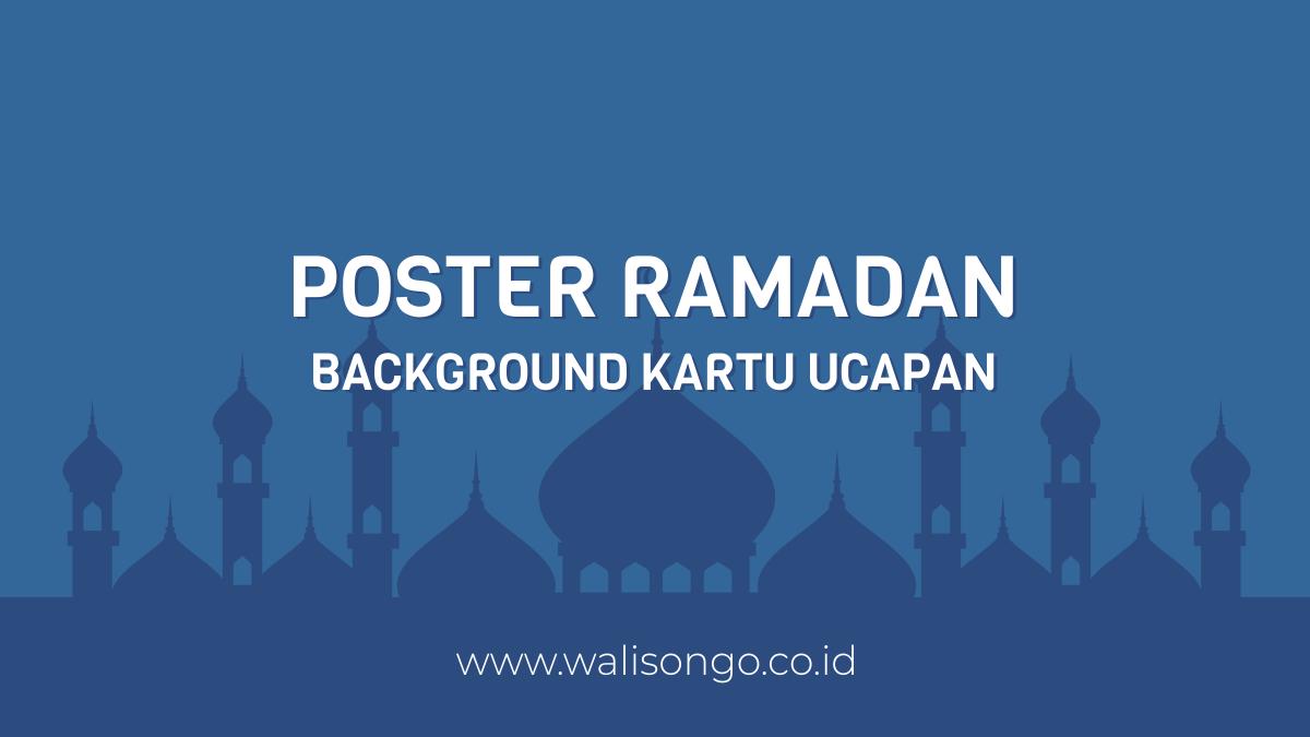 Desain Poster Ucapan Ramadhan, Background Selamat Puasa