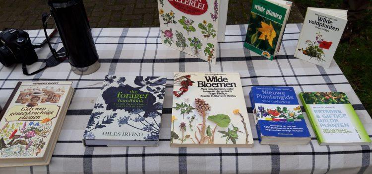 eetbare planten boeken literatuur wildplukken